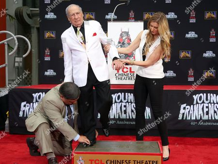 Editorial image of Mel Brooks Hand and Footprint Ceremony, Los Angeles, USA