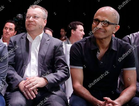 Editorial picture of Microsoft Leadership Changes, New York, USA