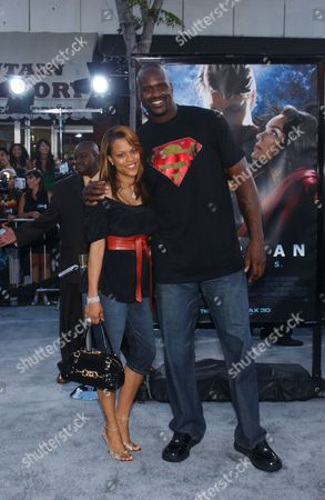 Shaunie Nelson and Shaquille O'Neal