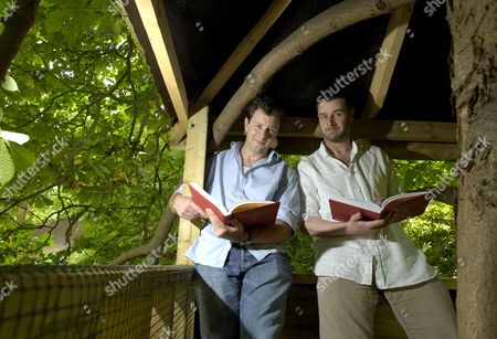Conn Iggulden and Hal Iggulden, writers of 'The Dangerous Book for Boys'