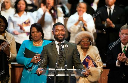 Editorial photo of MLK Holiday, Atlanta, USA
