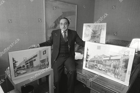 George Kaufman George Kaufman, president of Astoria Film Studio, displays drawings of the expansion and rebuilding plans for the existing Astoria Studio in New York City on . The original studio was the home of such early film stars as the Marx Brothers and Rudolph Valentio. The making of highly sophisticated and technical films will no longer necessitate going to Hollywood