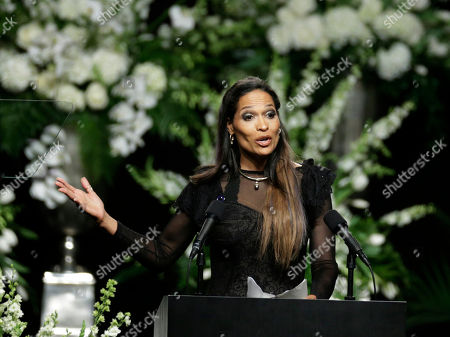 Stock Picture of Muhammad Ali's daughter Rasheda Ali-Walsh speaks during his memorial service, in Louisville, Ky