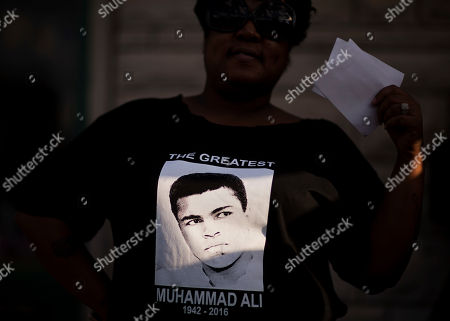Editorial picture of Muhammad Ali Memorial, Louisville, USA