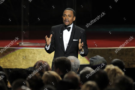 Hill Harper Hill Harper speaks at the 41st NAACP Image Awards, in Los Angeles
