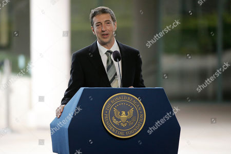 Ron Reagan Ron Reagan, son of late former President Ronald Reagan and Nancy Reagan speaks during the funeral service for the former First Lady at the Ronald Reagan Presidential Library, in Simi Valley, calif