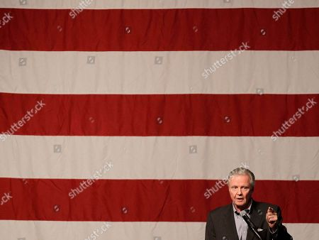 John Voight Actor Jon Voight speaks during a Get Out the Vote rally for Nevada U.S. Senate candidate Sharron Angle, in Las Vegas