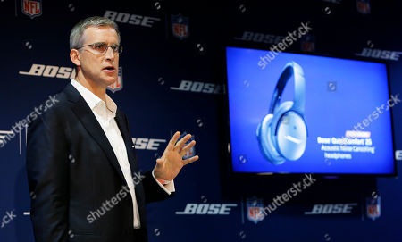 Sean Garrett Sean Garrett, vice president of the Bose Corporation's Noise Reduction Technology Group, speaks at a press event in Seattle. Garrett was discussing Bose's new QuietComfort 25 audio headphones (shown at right) as well as new noise-canceling headsets made by Bose that will be used by NFL football coaches on the sidelines during games this season