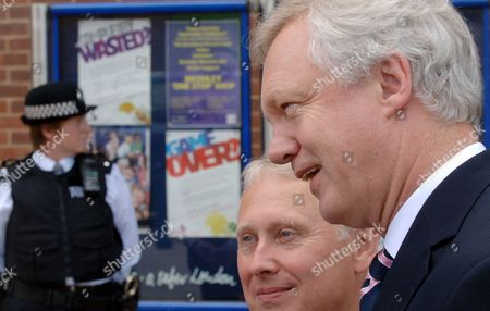 Bob Neill, Conservative candidate for Bromley and David Davis