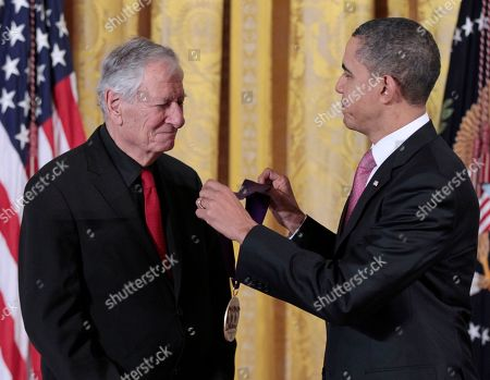 Editorial image of Obama Arts Humanities, Washington, USA