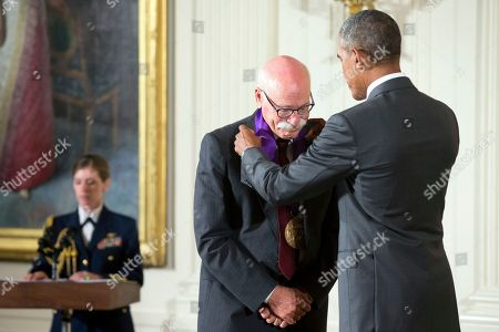 Editorial photo of Obama Arts, Washington, USA