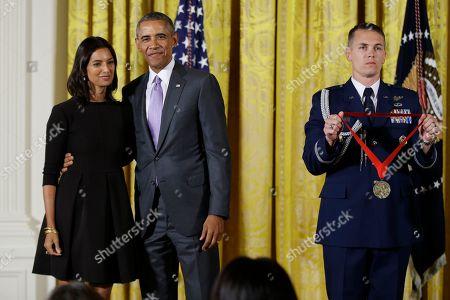 Editorial picture of Obama Arts, Washington, USA
