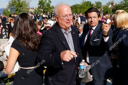 Karl Rove Republican strategist and former White House senior adviser Karl Rove arrives at the dedication of the George W. Bush presidential library on the campus of Southern Methodist University in Dallas
