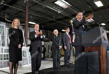 Barack Obama, Heather Higginbottom, Gene Sperling, Katharine G. Abraham, Jason Furman President Barack Obama announces Gene Sperling, second from left, as the new head of the National Economic Council, along with other members of his his economic team, during comments on nation's latest unemployment reports, at Thompson Creek Manufacturing in Landover, Md., . From left are: Heather Higginbottom, to be deputy director of the Office of Management and Budget; Sperling; the president; Katharine G. Abraham to the Council of Economic Advisers, and Jason Furman to deputy at the NEC