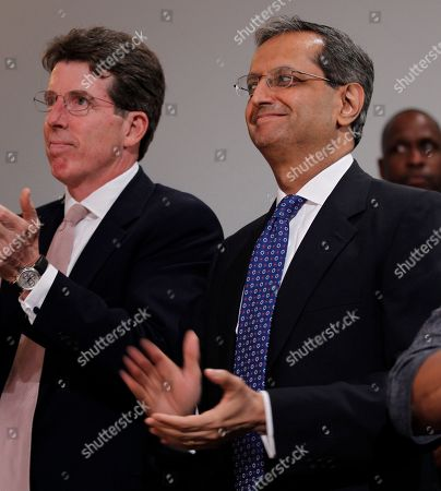 Vikram Pandit, Robert E. Diamond, Jr Robert E. Diamond, Jr. of Barclays PLC, left, and Vikram Pandit, right, CEO of Citigroup, applauds during the signing ceremony of the Dodd Frank-Wall Street Reform and Consumer Protection Act in a ceremony in the Ronald Reagan Building in Washington