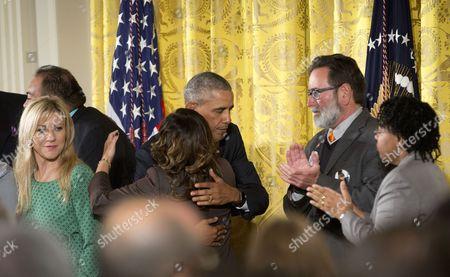 Editorial picture of Obama Guns, Washington, USA