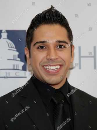 Erik Rivera Comedian Erik Rivera poses on the red carpet as he arrives at the Congressional Hispanic Caucus Institute's 33rd Annual Awards Gala at the Washington Convention Center in Washington