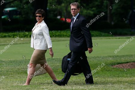 Valerie Jarrett, Jay Carney White House Press Secretary Jay Carney, right, and senior adviser Valerie Jarrett walk on the South Lawn of the White House as they accompany President Barack Obama, not pictured, as he travels to visit the Jersey Shore with New Jersey Gov. Chris Christie
