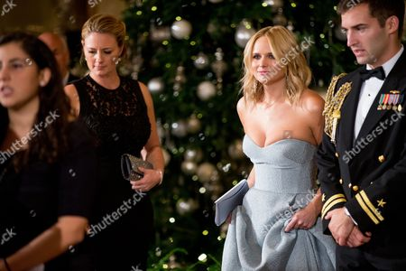 Miranda Lambert American country music artist Miranda Lambert, second from right, arrives at the 2015 Kennedy Center Honors reception in the East Room of the White House, in Washington. The 2015 Kennedy Center Honors Honorees are singer-songwriter Carole King, filmmaker George Lucas, actress and singer Rita Moreno, conductor Seiji Ozawa, and actress Cicely Tyson