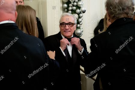 Martin Scorsese Director Martin Scorsese during the 2015 Kennedy Center Honors reception in the East Room of the White House, in Washington. The 2015 Kennedy Center Honors Honorees are singer-songwriter Carole King, filmmaker George Lucas, actress and singer Rita Moreno, conductor Seiji Ozawa, and actress Cicely Tyson