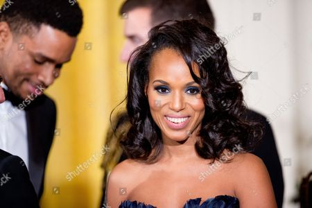Kerry Washington Actress Kerry Washington arrives at the 2015 Kennedy Center Honors reception in the East Room of the White House, in Washington. The 2015 Kennedy Center Honors Honorees are singer-songwriter Carole King, filmmaker George Lucas, actress and singer Rita Moreno, conductor Seiji Ozawa, and actress Cicely Tyson