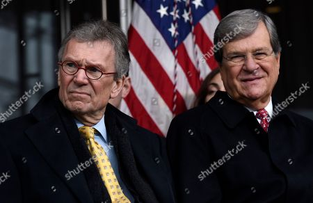 Tom Daschel, Trent Lott Former Senate Minority Leaders Tom Daschle, left, and Trent Lott listen during the dedication of the Edward M. Kennedy Institute for the United States Senate, in Boston. The $79 million Edward M. Kennedy Institute for the United States Senate dedication is a politically star-studded event attended by President Barack Obama, Vice President Joe Biden and past and present senators of both parties. It sits next to the presidential library of Kennedy's brother, John F. Kennedy