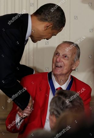 Editorial picture of Obama Medal of Freedom, Washington, USA