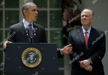 Barack Obama, Tom Donilon President Barack Obama, left, with National Security Advisor Tom Donilon, right, as he announces that current United Nations Ambassador Susan Rice will be his choice to be his next National Security Advisor in the Rose Garden of the White House in Washington