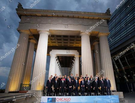 Editorial photo of Obama NATO Summit, Chicago, USA