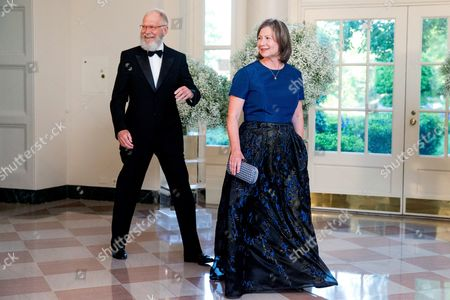 Regina Lasko, David Letterman Retired late night host David Letterman and his wife Regina Lasko arrive for a state dinner for Nordic leaders at the White House in Washington, . Nordic leaders are at the White house for a U.S.-Nordic Summit on security and economic issues followed by a State Dinner
