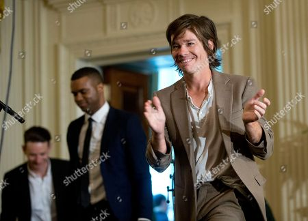 Nate Ruess Nate Ruess, lead singer of the band FUN, takes the stage to perform in the East Room of the White House in Washington during a ceremony for the 2016 National Teacher of the Year Honorees