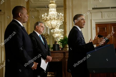Barack Obama, Anthony Foxx, Ray LaHood President Barack Obama, right, with Charlotte, N.C., Mayor Anthony Foxx, left, in the East Room of the White House in Washington, where he announced he would nominate Foxx to succeed Ray LaHood, center, as transportation secretary