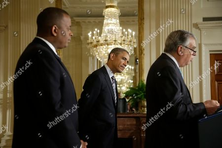 Barack Obama, Anthony Foxx, Ray LaHood President Barack Obama, center, listens to Transportation Secretary Ray LaHood, right, speak, after announcing he will nominate Charlotte, NC., Mayor Anthony Foxx, left, to succeed LaHood, in the East Room of the White House in Washington