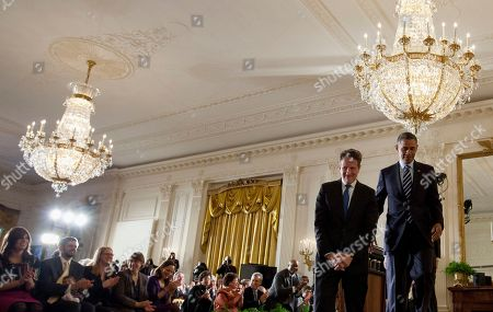 Barack Obama, Jack Lew, Timothy Geithner President Barack Obama and outgoing Treasury Secretary Timothy Geithner, left, leave the stage in the East Room of the White House in Washington, after the president announced he will nominate current White House Chief of Staff Jack Lew, behind them not seen, to succeed Geithner as treasury secretary