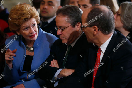 Debbie Stabenow, Gene Sperling, Thomas Perez Sen. Debbie Stabenow, D-Mich., left, talks with White House National Economic Council Director Gene Sperling, center, as Labor Secretary Thomas Perez, right, before President Barack Obama spoke about benefits for the unemployed, in the East Room at the White House in Washington. The president applauded a Senate vote advancing legislation to renew jobless benefits for the long-term unemployed as an important step. The Senate voted 60-37 Tuesday to clear the bill's first hurdle. But Republicans who voted to move ahead still want concessions that will have to be worked out before final passage. The Republican-controlled House would also have to vote for it