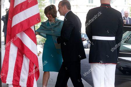 Editorial picture of Obama US Turkey, Washington, USA