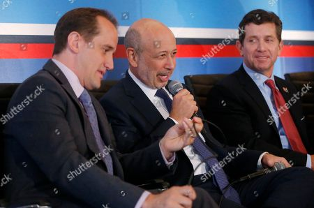 Randy Garutti, Lloyd Blankfein, Alex Gorsky From left, Randy Garutti, chief executive officer of Shake Shack, Lloyd Blankfein, chairman and chief executive officer of Goldman Sachs, and Alex Gorsky, chief executive officer of Johnson and Johnson, participate in a session entitled: Talent Attraction and Retention, at The White House Summit on Working Families in Washington. The gathering, organized by the White House, Labor Department and the Center for American Progress, highlights the challenges and offers solutions faced by working families in America