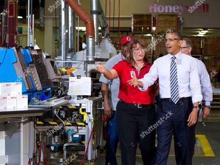 Editorial image of Obama, Golden Valley, USA