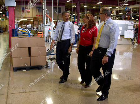 Editorial picture of Obama, Golden Valley, USA
