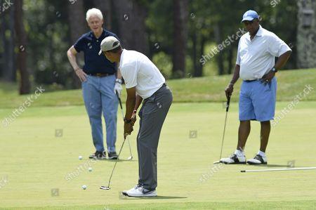 Editorial image of Obama, Oak Bluffs, USA