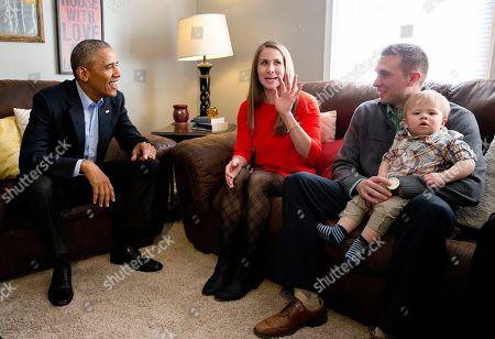 Editorial photo of Obama, Omaha, USA