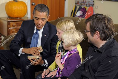 Editorial photo of Obama, Seattle, USA