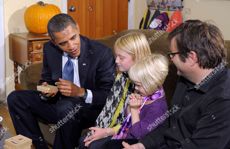 Editorial picture of Obama, Seattle, USA