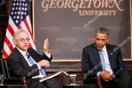 Editorial photo of Obama, Washington, USA