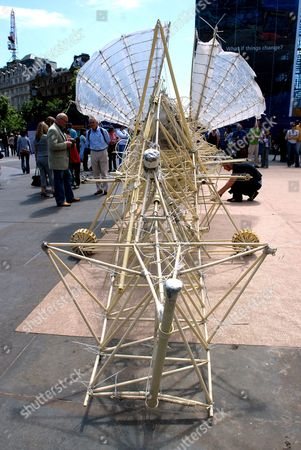 Editorial picture of 'Strandbeests' by Theo Jansen, Trafalgar Square, London, Britain - 24 June 2006