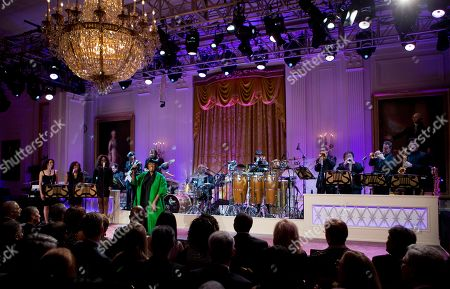 """Patti LaBelle Patti LaBelle sings """"Over the Rainbow"""" during the """"In Performance at the White House: Women of Soul"""" in the East Room of the White House in Washington, hosted by President Barack Obama, and first lady Michelle Obama. The program include performances by Tessanne Chin, Melissa Etheridge, Aretha Franklin, Ariana Grande, Janelle Monáe and Jill Scott"""
