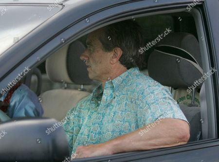 Stock Image of Robert Kennedy Jr Robert Kennedy, Jr., son of late Senator Robert F. Kennedy, arrives at the home of Eunice Kennedy Shriver and Sargent Shriver in Hyannis Port, Mass., . Shriver, the sister of President John F. Kennedy and Massachusetts Sen. Edward M. Kennedy, died Tuesday morning at Cape Cod Hospital at age 88