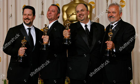 Editorial picture of Oscars Press Room, Los Angeles, USA