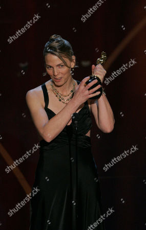 """Torill Kove Torill Kove accepts the Oscar for best animated short film for """"The Danish Poet"""" at the 79th Academy Awards, in Los Angeles"""