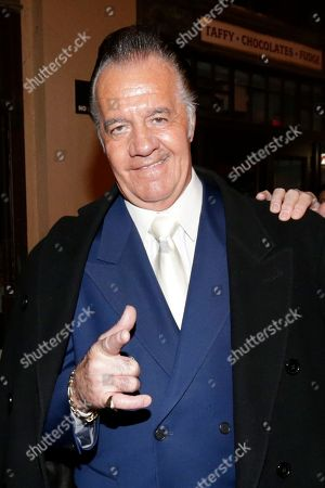 """Tony Sirico Tony Sirico, who played the role of Paulie """"Walnuts"""" Gualtieri in the cable series The Sopranos, poses for photographers at the Asbury Park Conventional Hall during red carpet arrivals prior to the New Jersey Hall of Fame inductions, in Asbury Park, N.J. James Gandolfini, who played the lead role in The Sopranos, will be inducted in to the hall of fame during the event"""